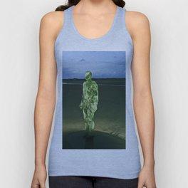Last Iron Man on the Beach (Digital Art) Unisex Tank Top