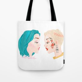Two Halseys Tote Bag