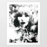 「Kristen 」 Art Print