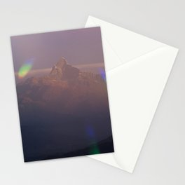 The Machapuchare Shine Stationery Cards