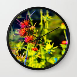 """""""A Friend Told Me I Was Delusional, I Almost Fell Off My Dragon!"""" Wall Clock"""