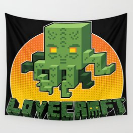 Minecraftian Wall Tapestry