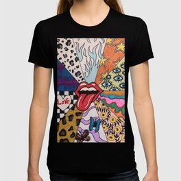Colored abstraction, pop art T-shirt