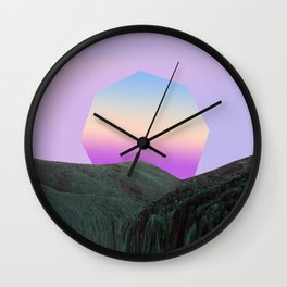 Where I Want to Be Wall Clock