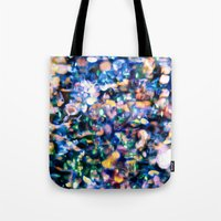 sparkle Tote Bags featuring Sparkle by Stephen Linhart