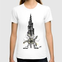 wiz khalifa T-shirts featuring Burj Khalifa by sladja