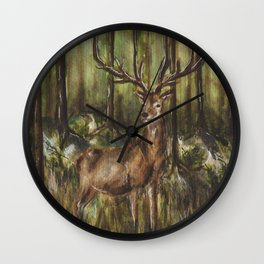 Hiden Wall Clock