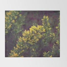 Yellow mellow Throw Blanket