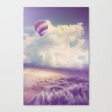 BALLOON FLIGHT Canvas Print