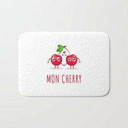 Mon Cherry Bath Mat