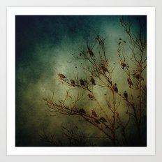 Bird Tree Art Print