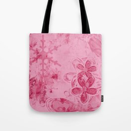 Rose Water Pink Splashes - Digital Abstract Texture Tote Bag