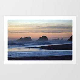 Cannon Beach Oregon Art Print