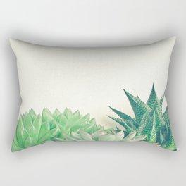 Succulent Forest Rectangular Pillow