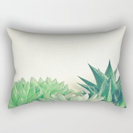 Succulent Forest Rectangular Pillow