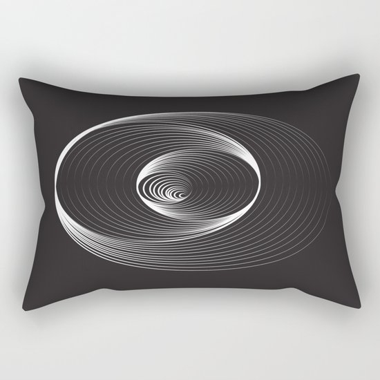 Black Hole - Small Rectangular Pillow