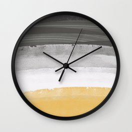 Coastal waves Wall Clock