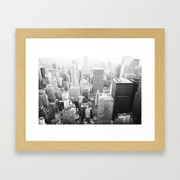 NY Minute Framed Art Print