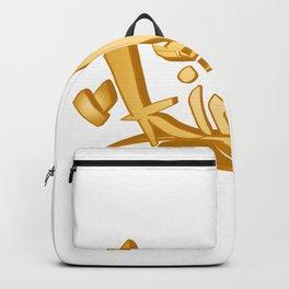 original king word  graffiti tag Backpack