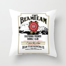 Beam Team Throw Pillow