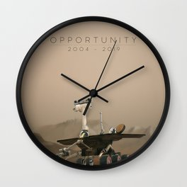 Opportunity / 2004 - 2019 Wall Clock