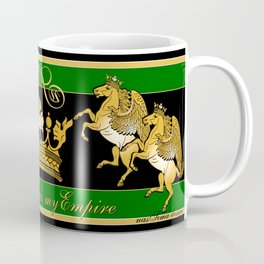 Royal Horse & Leo - animalprint Coffee Mug