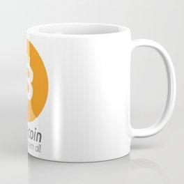 Bitcoin : one coin to rule them all Coffee Mug