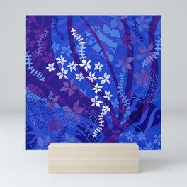 Hawaiian Swirl Mini Art Print