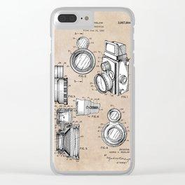 patent art Winslow Camera Accessories 1960 Clear iPhone Case