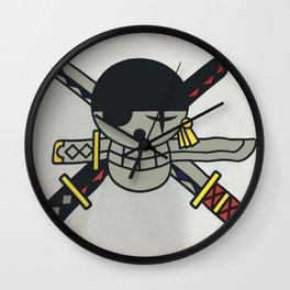 bape X one piece Wall Clock