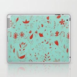 Flowers red Laptop & iPad Skin