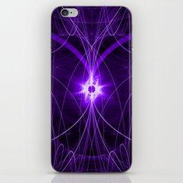 Purple Strings iPhone Skin