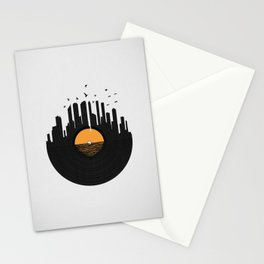Vinyl City Stationery Cards