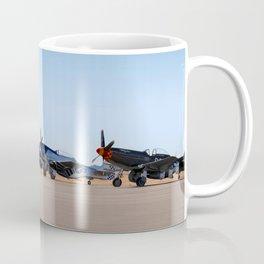 WW2 Warbirds Line-up, Sonoma County Airport, California Coffee Mug