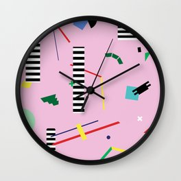 Geometry Lesson Wall Clock