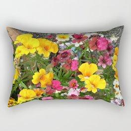 Colorful Nemesia Rectangular Pillow