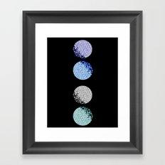 Many Many Moons Framed Art Print