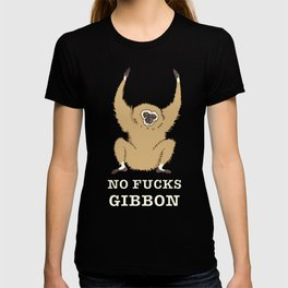 No Fucks Gibbon (No Fucks Given) T-shirt