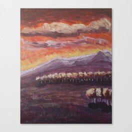 Evening Canvas Print