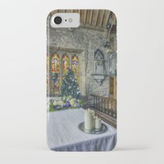 Candles At Christmas Slim Case iPhone 7