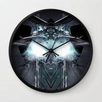 transformer Wall Clocks featuring Transformer! by Robin Curtiss