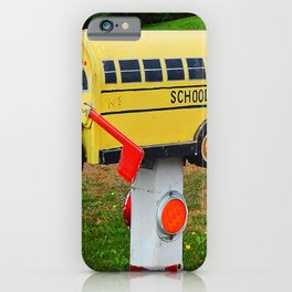 School Bus Mailbox iPhone Case