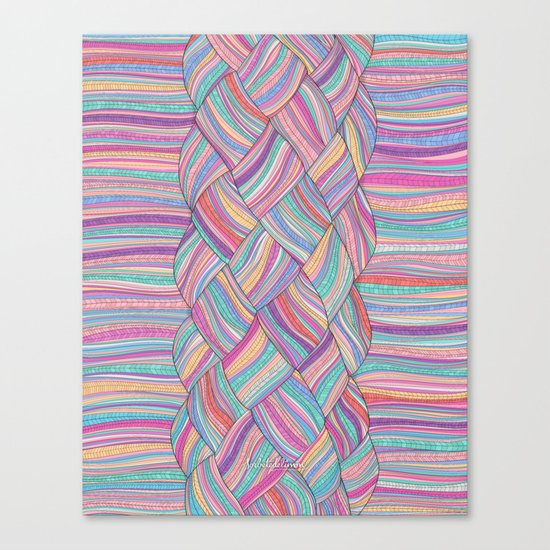 BOHOBRAID Canvas Print