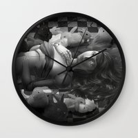 macaroon Wall Clocks featuring Macaroon by Louten
