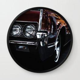 Car headlight 4 Wall Clock