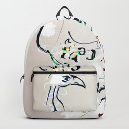 Peacock Empress Backpack