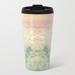 Raindbow Clouds Travel Mug