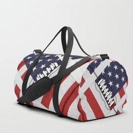 4th of July American Football Fanatic Duffle Bag