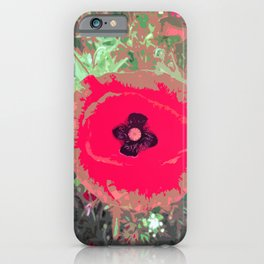 Lest We Forget Poppy iPhone Case