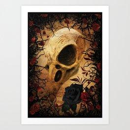 Ravens & Roses Art Print
